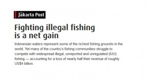 Fighting illegal fishing is a net gain