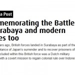 Commemorating the Battle of Surabaya and Modern Heroes Too [TheJakartaPost.com]