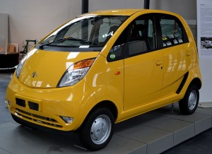 Indian Tata Nano with price tag of $2000 will affect oil demand (Image from Wiki)