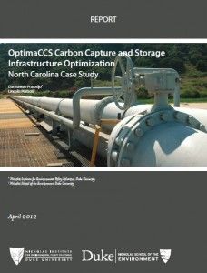 OptimaCCS Carbon Capture and Storage Infrastructure Optimization: North Carolina Case Study